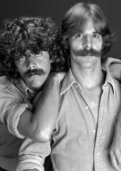 Moustaches.