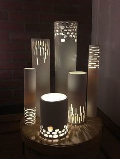 s why everyone is grabbing pvc pipes for their home decor, home decor, plumbing, They can turn into beautiful modern lamps