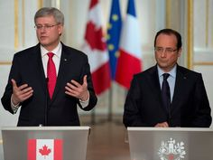 We want Assad out:Canadian Prime Minister Harper convinced regime used chemical weapons after U.S. claims it has proof--Speaking in Paris alongside French President Francois Hollande, Stephen Harper said he accepts the U.S. claims.