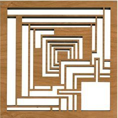 """The design featured on this trivet is adapted from the concrete """"textile"""" blocks that comprise the Charles Ennis House in Los Angeles, California. Designed by Frank Lloyd Wright in 1923. Details Dimen"""