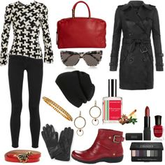 High fashion comes to Winter in this outfit w/pieces from KateSpade, Lanvin, Valentino & Teacher Clothes, Teacher Outfits, High Fashion, Women's Fashion, Edgy Chic, Winter Is Coming, Lanvin, Fashion Forward, Winter Outfits