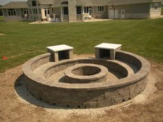 A great Firepit for your backyard by From The Ground Up Landscapes