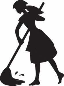 Cartoon Silhouette Clipart Maid Clip Art Images Maid Stock Photos