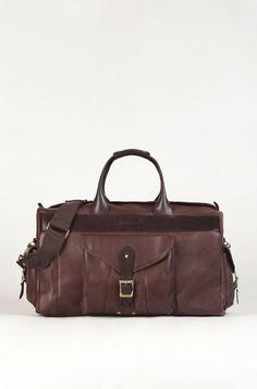 COMBINED LEATHER TRAVEL BAG - Essentials - New Season - MEN - Denmark Travel  Items, b34f020b9e