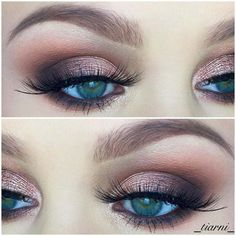 Step by Step Smokey Eye Tutorials - Metallic Mauve Eyeshadow With Soft Smokey - Step by Step Tutorials on How to Apply Different Eyeshadows for Smokey Eyes - Awesome Looks for Brown, Black, and Blue Eyes, Natural Looks, and Looks for All Types of Lashes - thegoddess.com/step-by-step-smokey-eye