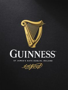 Design Bridge has created a new harp icon for Guinness, redrawing the brand mark in collaboration with traditional harp makers Niebisch & Tree, letter press studio New North Press and illustrator Gerry Barney. Guiness Beer, Alec Guinness, Guinness Cake, Daphne Guinness, Guinness Book, Identity Design, Brand Identity, Logo Design, Graphic Design