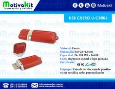 USB de cuero