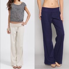 SOLD - Hold for Kasey The CHENG casual pant - NAVY size S Pants