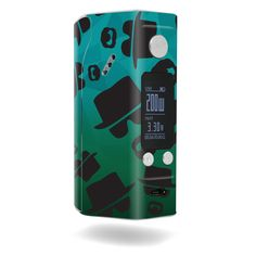 Broken Bad skin design for Wismec Reuleaux RX200S