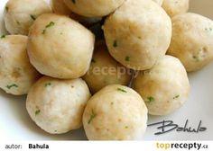 Strouhankové knedlíky II. recept - TopRecepty.cz Bread Dumplings, Gnocchi, Potatoes, Vegetables, Food, Recipies, Potato, Essen, Vegetable Recipes