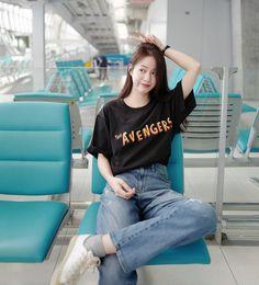 Korean Fashion Trends, Korea Fashion, Asian Fashion, Girl Fashion, College Fashion, College Outfits, Korean Casual Outfits, Girl Outfits, Fashion Outfits