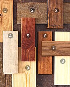 Martha Stewart Home & Garden- good article with pros and cons of each wood flooring option