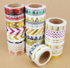 Material: Washi Paper. Package Includes:1 x Washi Tape. Color:As the picture shows. Condition: 100% Brand New and High Quality. Size: 1.5cm x 10m. 2.The colors may have different as the difference display,pls understand.