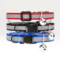 Buddy Cat Reflective Stripe Collars - Find it at The Cat Connection, the largest online retailer of premium cat products.