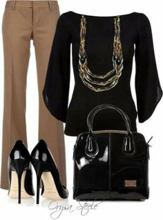 Business chic!! WWW.SocietyOfWomenWhoLoveShoes.org