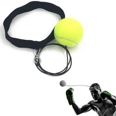 Boxing Fight Ball With Head Band For Reflex Reaction Speed Training Boxing Punch Exercise