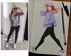 """76b Beğenme, 256 Yorum - Instagram'da Laura Brouwers (@cyarine): """"#CyOOTDS I got this super cute cap from @shop_chokers at a convention in Eindhoven last week! They…"""""""