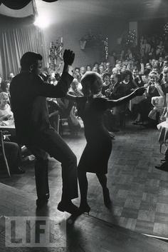 Chubby Checker at the Crescendo nightclub in Los Angeles, California, 1961.