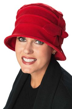 Fleece Hats for Hair Loss: Leah Cancer Hat