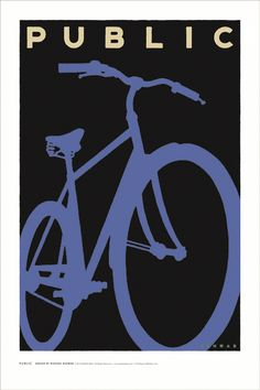 Michael Schwab for the Public Bikes Poster Project