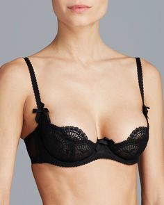 The Vanessa Demi Bra by L'Agent is all that a sexy French bra should be!  Now available for $92 in last chance sizes 32B and 36C in store at Posh Lingerie or online at www.poshlingerie.net!