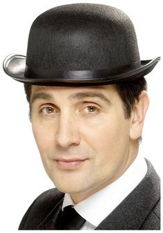1920s Star Costume - Bowler Hat Black Bowler Hat 05076e02a