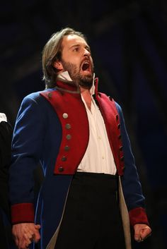 Alfie Boe as Jean Valjean in Les Miserables  This man has an incredible voice! He played this part really well!