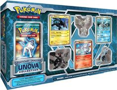 Amazon.com : Pokemon Card Game Legendary Dragons of Unova Collection : Pokemon Llegendary Dragons : Toys & Games
