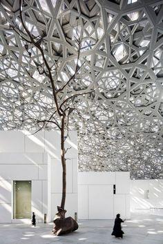 Louvre Abu Dhabi Floating Dome 12 #futuristicarchitecture