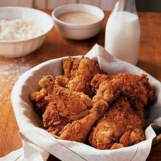 Top 10 Fried and Oven-Fried Chicken Recipes - Delish.com.... Spicy Southern Fried Chicken
