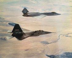 YF-22 and YF-23 - Edwards Air Force Base - Wikipedia, the free encyclopedia
