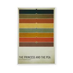 Fairy Tale Wall Art Princess and the Pea   The Land of Nod