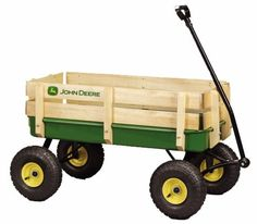 For a bouncing baby boy.. John Deere Steel Stake Wagon