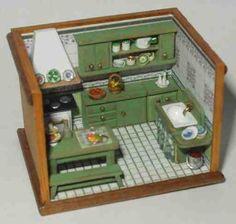 roomboxes 1/144 Francesca Vernuccio