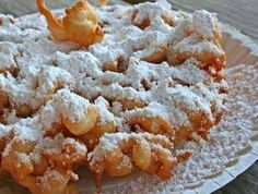Funnel Cake ~ Recipe of today