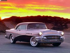Buick Roadmaster (1955) And a few pretty colors for your brighter Monday morning.
