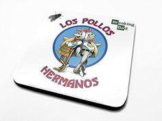 Breaking Bad - Los Pollos Hermanos - Coaster @ niftywarehouse.com #NiftyWarehouse #BreakingBad #AMC #Show #TV #Shows #Gifts #Merchandise #WalterWhite