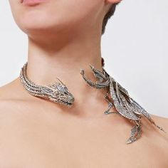 Daenerys Drogon Neck Sculpture