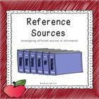 This resource offers a collaborative, fun and engaging way to enhance student reference skills. The primary intended use of this resource is grades (3-5).   This packet includes the following:    • A step by step five day planning guide • Sources Quiz • Sources Quiz Answer Key • Chart Information Sheet • Puzzle sheet (match-up along with clues)   ****************************************************************************  How to get TPT credit to use on future purchases:  • Pleas...