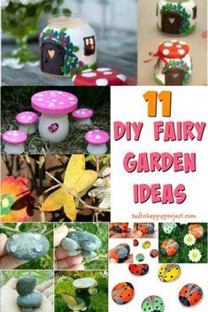 DIY Fairy Garden Ide