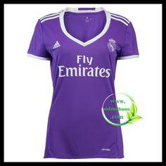 Fotballdrakter FC Real Madrid Dame Bortedraktsett 2016-2017