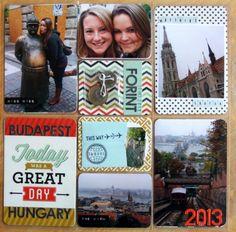 Budapest, Hungary - Project Life - Scrapbook.com