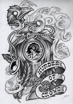 Vigorous by CatapultedCarcass. Murder of Crows vigor from Bioshock Infinite. Bioshock Tattoo, Bioshock Art, Bioshock Series, Bioshock Quotes, Fandom Tattoos, Gamer Tattoos, Bioshock Infinite, Sweet Tattoos, Cool Tattoos