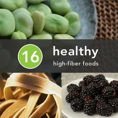 16 Healthy High-Fiber Foods - Fiber is something the body needs but never actually digests — in fact, it remains more or less the same from plate to toilet. Healthy Life, Healthy Snacks, Healthy Living, Healthy Recipes, Healthy Detox, Detox Recipes, Eating Healthy, Fiber Diet, High Fiber Foods