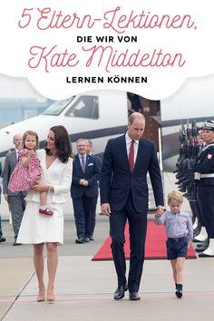 So erzieht Herzogin Kate ihre Kinder - und das können wir von ihr lernen! #Erziehung #KateMiddleton #KInder