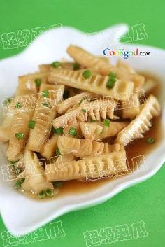 油焖笋 soy sauce bamboo