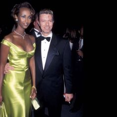 David Bowie And Iman: 13 Photos That Prove They Were The World's Most Fashionable Couple | HuffPost UK