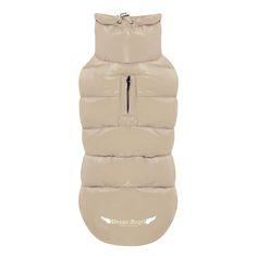 Puppy Angel Down Dog Padded Vest in beige