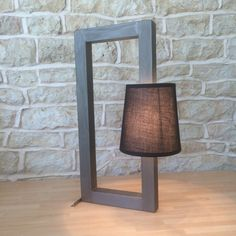 Modern Contemporary Table Lamp Desk Light Home Office Minimalist Designer Lamp Shade Black Grey Bronze