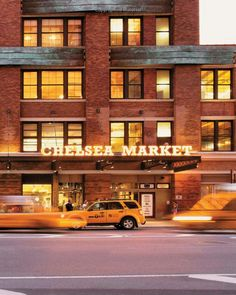 Chelsea Market, with more than 35 stores and restaurants
